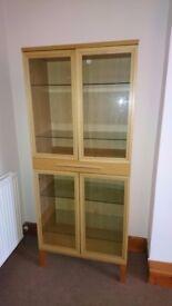 IKEA Bjursta Display Cabinet