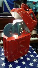ORIGINAL ART ZIPPO LAMP 5 GALLON JERRY CAN