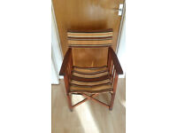 Vintage 1960's directors chair