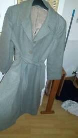 Lovely 50s style coat size 14