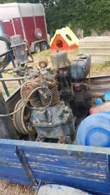 Single Lister with twin pot compressor engine