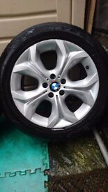 "BMW X5 alloys wheels 19"" x 4"