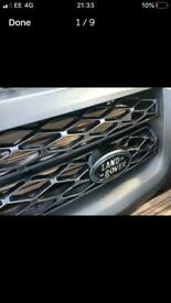 Range Rover 2010 sport parts