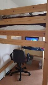 Small Double Loft Bed