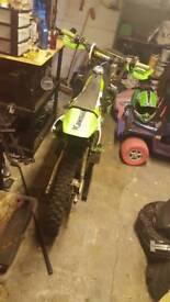 Kx85 bored to 100cc 2003 not yz rm cr crf