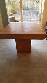 Indian Sheesham Wood Dining Table