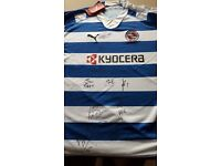 Reading FC signed shirt