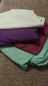 Bundle of 4 single fitted sheets