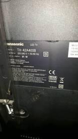 42inch panasonic tv spars repairs