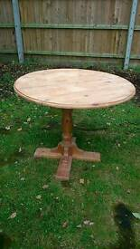 Pine table ducal project