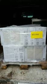 Joblot pallet tiles. 48 boxes rrp £2000 - brand new
