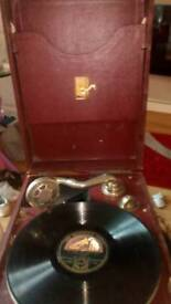 Antique gramaphone