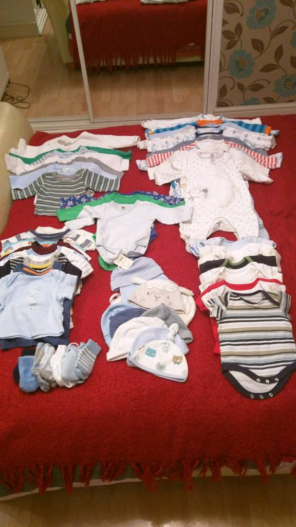 Huge bundle baby boy 0-3 (over 100 items)