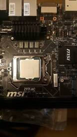 Motherboard procesor and cooling system