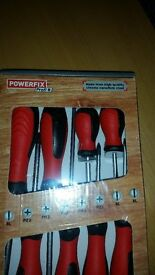 set of 8 screw driver brand new