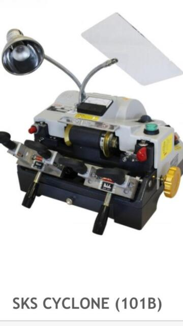 Cyclone dual key cutting machine and 2 x key blank boards and accessories |  in Hove, East Sussex | Gumtree