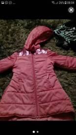 Billie blush coat