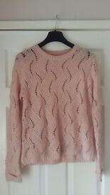NEW Ladies Womens Lovely Knitted Jumper size 12/14
