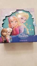 Disney Frozen Money Box. Brand New