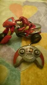 Iron Man remote control bike