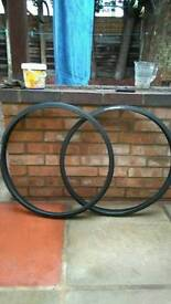 Two road bike tyres for sale