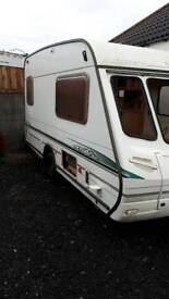 Free caravan rolling shell on alko chassis