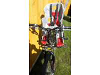For sale used Bellelli Rabbit Front bike seat (from Halfords) up to 15kg