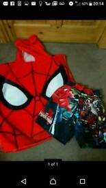 Spiderman swim set 3-4years