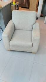 Practically new john lewis arm chair