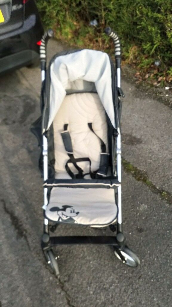 Mickey mouse stroller/buggy rrp £230