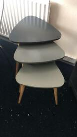 Orla retro nest of tables