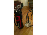 Ladies golf clubs with bag and trolley - 12 clubs