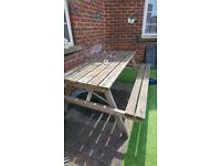 Picnic benches x 2 £40 each