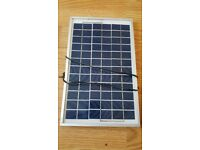 Solar panel for bait boat 5w