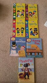 SELECTION OF 15 CHILDRENS BOOKS - LEARNING TO READ & STICKER BOOKS