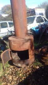 Lge cusom made wood and solid fuel burner