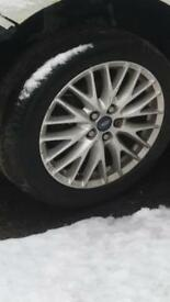 Ford focus 2011 alloy wheels