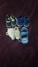 Babyboy 0-3months pram shoes