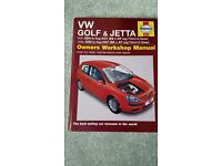 Vw Golf Haynes Manual