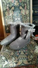 Genuine grey ugg boots
