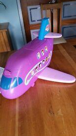 Polly Pocket Pollytastic Adventure Jumbo Jet playset