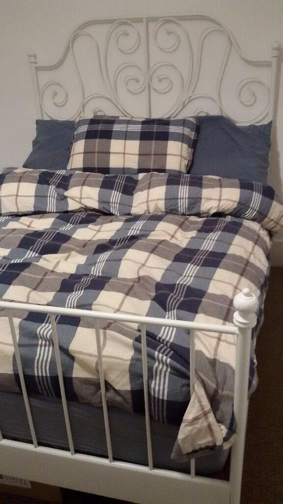 ikea leirvik bed frame mattress - Ikea Leirvik Bed Frame