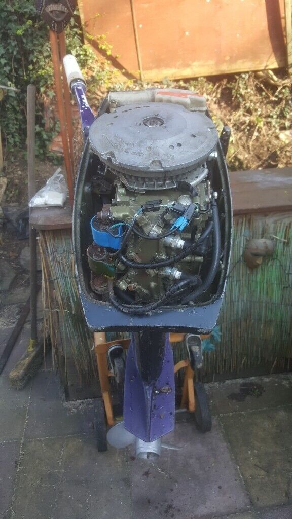 15 hp johnson outboard engine SPARES OR REPAIR | in Plymouth, Devon |  Gumtree