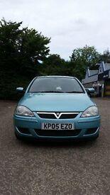 Vauxall Corsa 05 plate 1.2 petrol semi-auto 9months MOT 65k