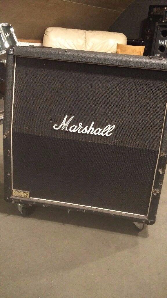 Marshall JCM900 Lead 1960 Cab