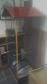 Ferplast full height bird cage