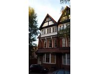 2 bed flat with garage. 2nd floor.