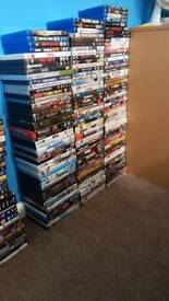 Dvds and blu rays £1 eatch