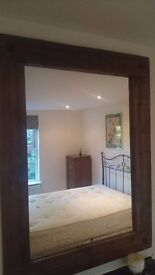 Mirror Wood Frame