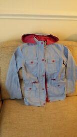 Girls Cherokee long jacket 11-12 years